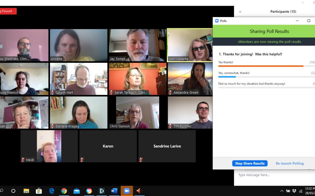 Facilitating Great Online Meetings – Takeaways